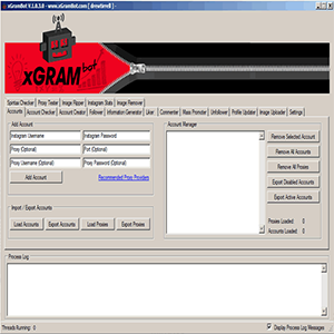 How to use and download the xGramBot 1.0.3.6 program