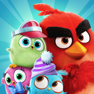 Tricks, solutions for gems, unlimited lives and download MOD APK for the game Angry Birds Match