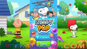 game snoopy pop solutions download apk