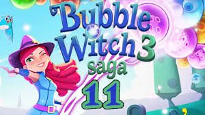 Bubble Witch Saga 3 Level 11