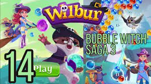 Bubble Witch Saga 3 Level 14