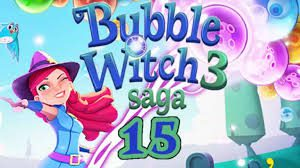 Bubble Witch Saga 3 Level 15