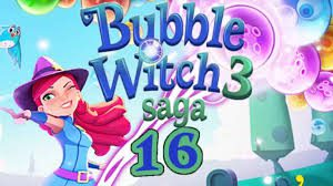 Bubble Witch Saga 3 Level 16 Walkthrough and Video