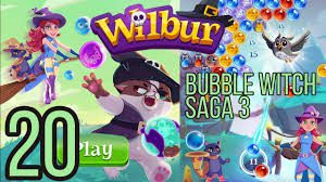 Bubble Witch Saga 3 Level 20
