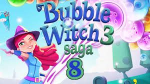 Bubble Witch Saga 3 Level 8