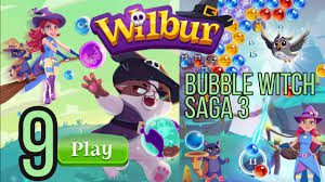 Bubble Witch Saga 3 Level 9
