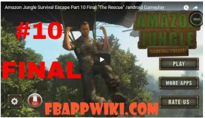 Amazon Jungle Survival Escape Level 10 Walkthrough