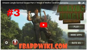 Amazon Jungle Survival Escape Level 3 Walkthrough