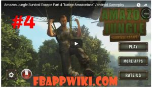 Amazon Jungle Survival Escape Level 4 Walkthrough