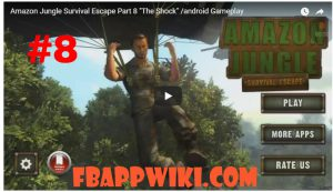 Amazon Jungle Survival Escape Level 8 Walkthrough