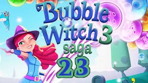 Bubble Witch Saga 3 Level 23