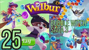 Bubble Witch Saga 3 Level 25