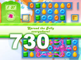 Candy Crush Jelly Saga 730