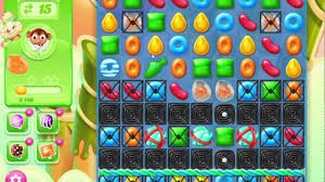 Game Candy Crush Jelly Saga level 735