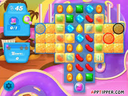 Game Candy Crush Jelly Saga level 737