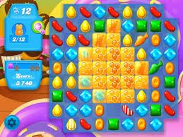 Game Candy Crush Jelly Saga level 738