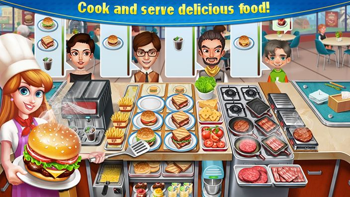 crazy cooking chef game